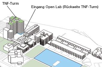 Kontakt Informationen Anfahrtsplan - JKU Open Lab