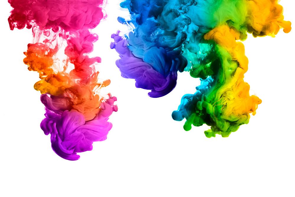 Eine Welt voller Farben